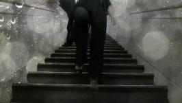 Nataša Prosenc Stearns - Hotel Diary: Staircase